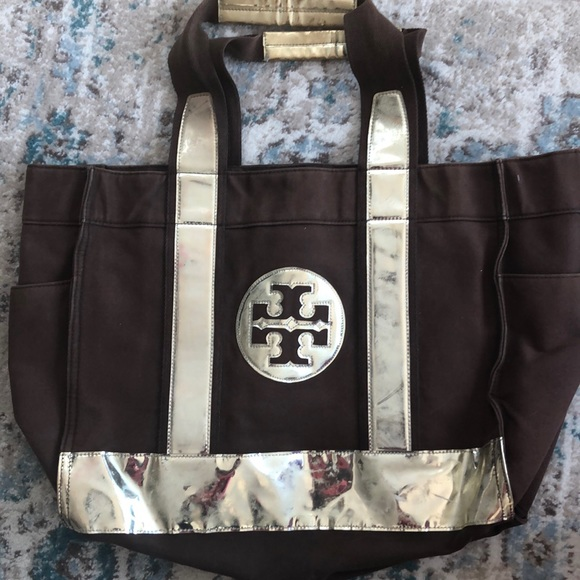 Tory Burch Handbags - Tory Burch Large Canvas Tote